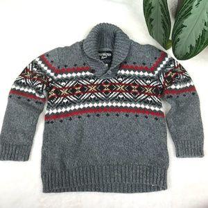Oshkosh B'gosh Boys 4T Gray Sweater - G7
